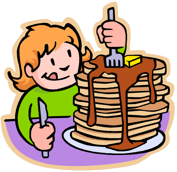 clipart girl eating breakfast - photo #23